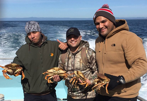 Monterey bay crab report j m sport fishing for Randys fishing trips